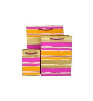 GIFTBAG/Paint Stripe Rasp