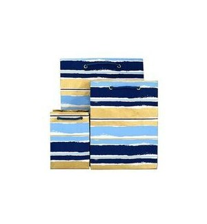 GIFTBAG/Paint Stripe Blue