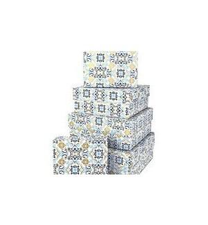 GIFTBOX/Boho Tile Blue