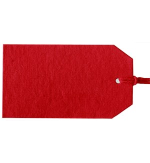 GIFTTAG/Plain Gift Tag Red