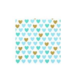 WRAP/Mini Heart Mint