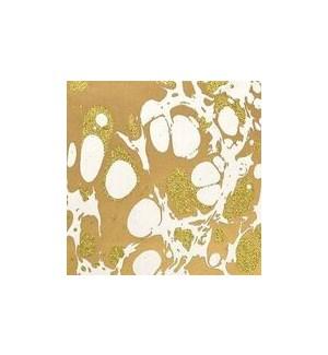 WRAP/Gltr Mrbl Wht Gold