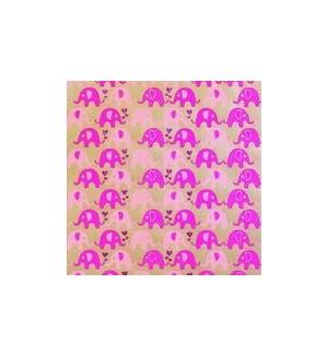 WRAP/Mni Ellies Kr Pink