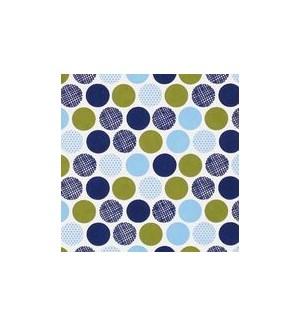 WRAP/Polka Blue Khaki