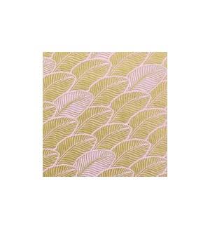 WRAP/Gold Leaf On Pink