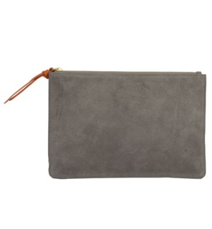 CLUTCH/Suede Taupe