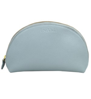 COSMETICBAG/Leather Blue