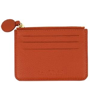 CARDHOLDER/Leather Orange
