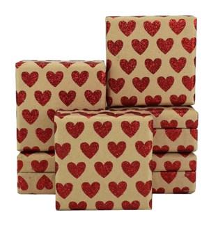 MINIBOX/Gltr Red Heart Mini