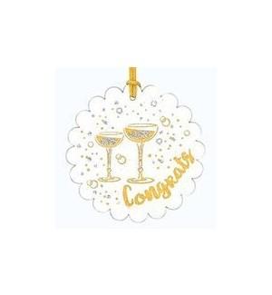 GIFTTAG/Congrat Gold Tg
