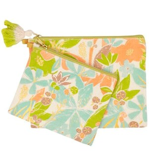 POUCH/Tex Floral