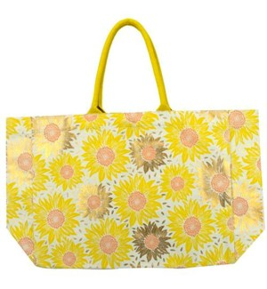 TOTE/Sunflowers Cnvs Tote