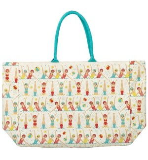 TOTE/Swimmers Cnvs Tote