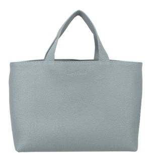 TOTE/Leather Blue & Plum