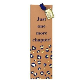 BOOKMARK/Chapter Leather Charm