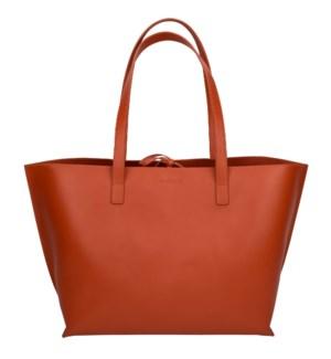 TOTE/Leather Orange