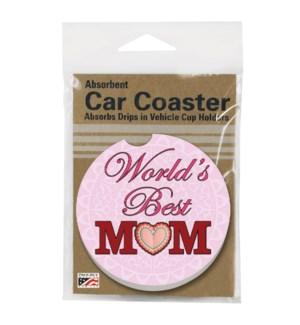 CARCSTR/1pk Best Mom Pink