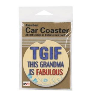 CARCSTR/1pk Grandma Fabulous