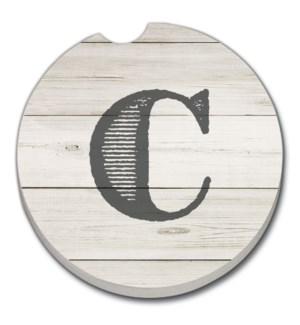 CARCSTR/Bulk Shiplap Monogrm C