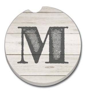 CARCSTR/Bulk Shiplap Monogrm M