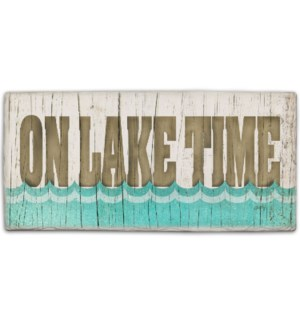STNSIGN/On Lake Time