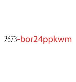 PPKW/Bor 24 (Multi) No Disp*