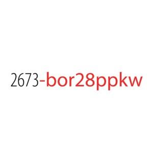 PPKW/Borealis Top 28 No Disp*