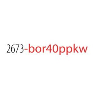 PPKW/Borealis Top 40 No Disp*