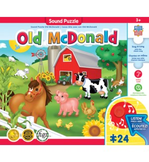 PUZZLES/24PC Old McDonald