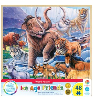 PUZZLES/48PC Ice Age Friends