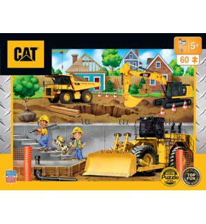 PUZZLES/60PC Caterpillar Nbhd