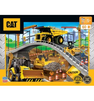 PUZZLES/60PC Caterpillar Brdg