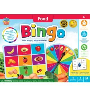 GAMES/Food Bingo