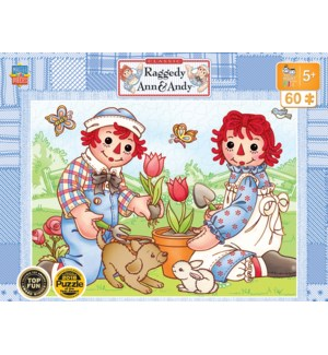 PUZZLES/60PC Ann Andy Picnic