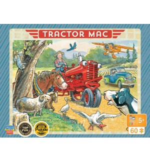 PUZZLES/60PC Tractor Mac Ride