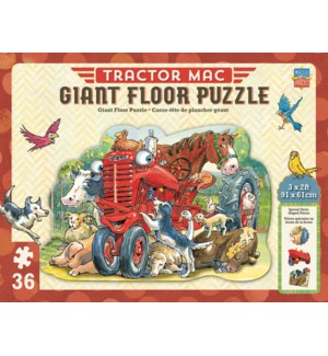 PUZZLES/36PC Tractor Mac Floor