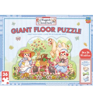 PUZZLES/36PC Ann & Andy Floor