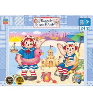 PUZZLES/24PC Ann & Andy Beach