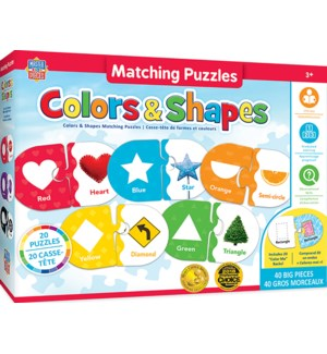 PUZZLES/Cols Shapes Matching