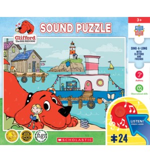 PUZZLES/24 PC Clifford
