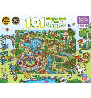PUZZLES/101PC In the Garden