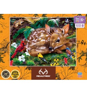 PUZZLES/100PC RealTree