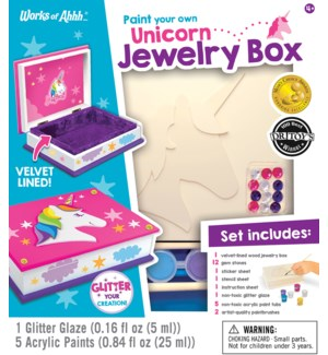 PAINTKIT/Unicorn Jewelery Box