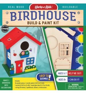 PAINTKIT/Buildable Birdhouse