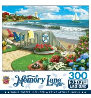 PUZZLES/300PC Memory Lne Coast