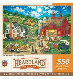 PUZZLES/550PC Friday Hoe Down