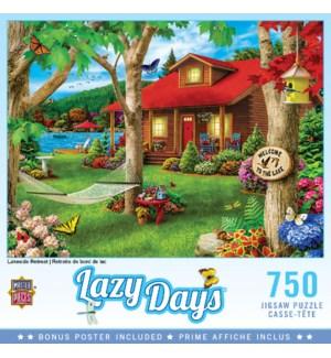 PUZZLES/750PC Lakeside Retreat