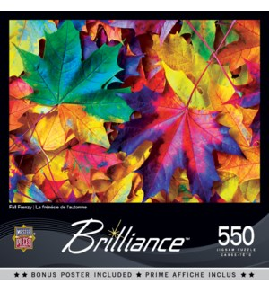 PUZZLES/550PC Fall Frenzy