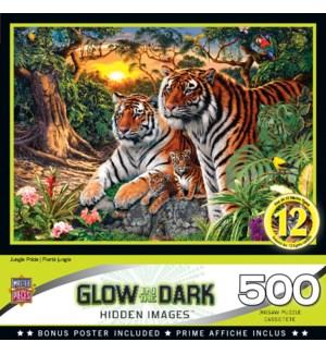 PUZZLES/500PC Jungle Pride