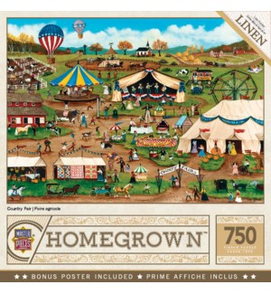 PUZZLES/750PC Country Fair
